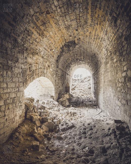 Abandoned underground passageway - Offset Collection
