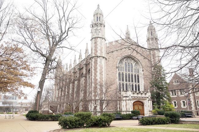 The Graham Chapel in St. Louis, Missouri