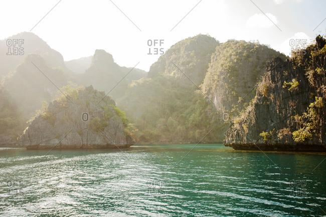 Banol Beach in Kayangan Lake, Philippines
