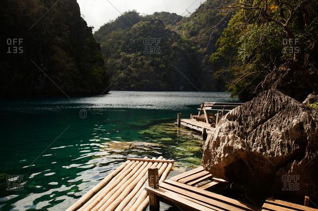Kayangan Lake, Coron Island, Philippines