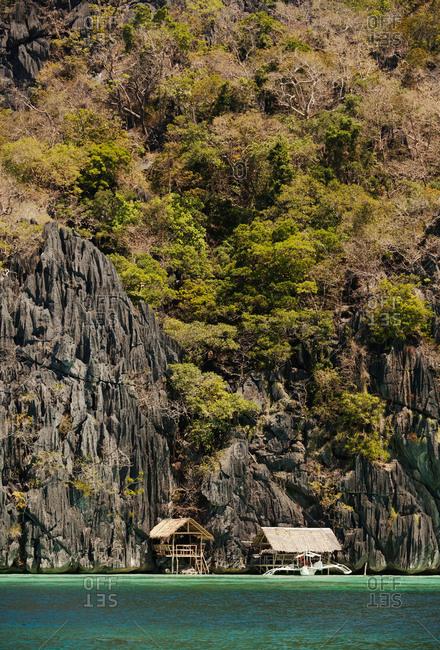 Coron Island shoreline, Philippines