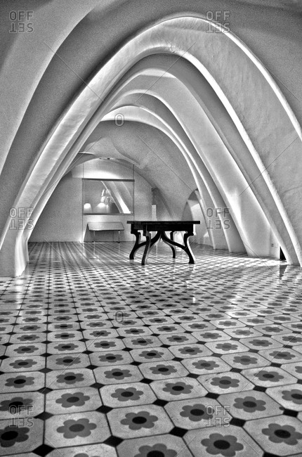 June 22, 2015 - Barcelona, Spain: Interior of Casa Batllo
