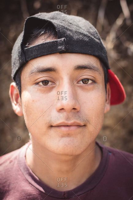 Guatemala - May 4, 2015: A young Guatemalan man