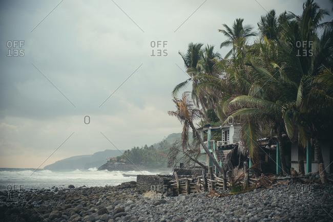 A house at the beach in El Zonte, El Salvador