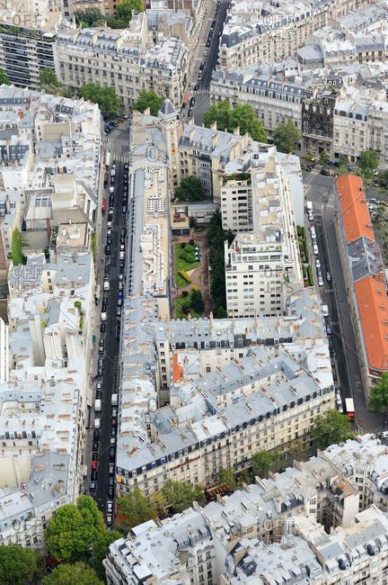 Parisian residential building