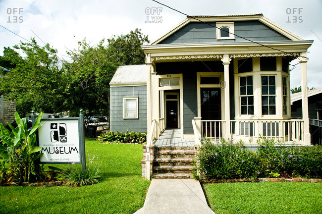 Donaldsonville, Louisiana - May 30, 2012: The River Road African American Museum