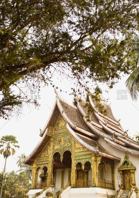 Exterior of Wat Prabang, Luang Prabang, Laos