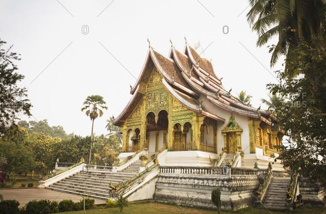 Facade of Wat Prabang, Luang Prabang, Laos