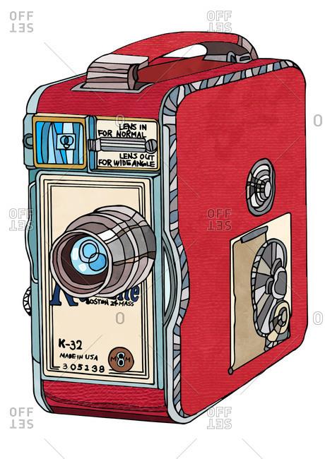 Vintage video recording device