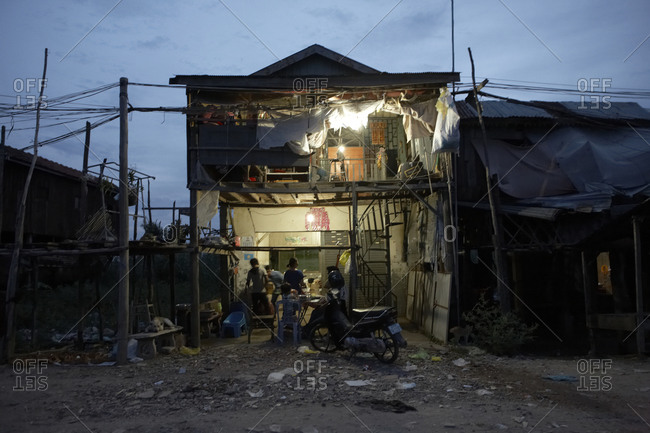 Poverty in Phnom Penh, Cambodia