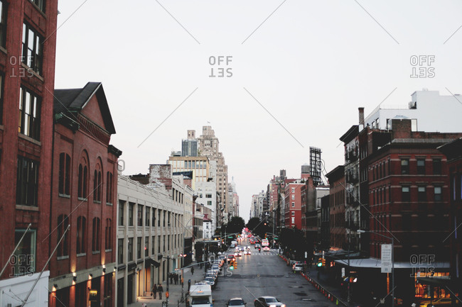 A street in the Meatpacking District, New York City