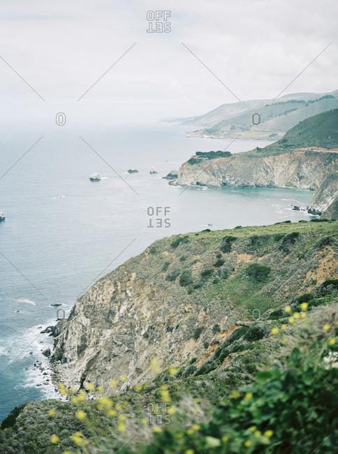 A Big Sur coastal scene