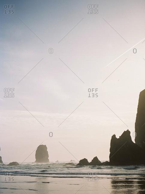 Rocks on Pacific coast