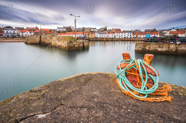 St. Monans harbor, Scotland