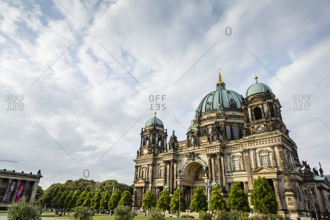 A view of the Berlin Cathedral, Mitte, Berlin, Germany