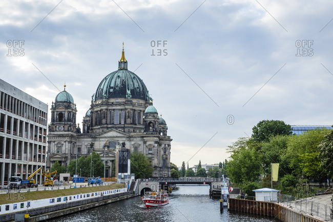 May 22, 2015: The Berliner Dom (Berlin Cathedral), Mitte, Berlin, Germany