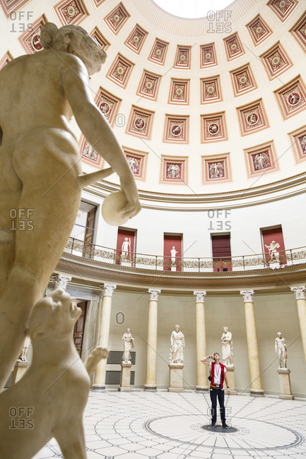 May 22, 2015: Altes Museum at the Museumsinsel (Museum Island), Mitte, Berlin, Germany