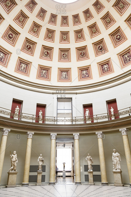 May 22, 2015: The Altes Museum at the Museumsinsel, Mitte, Berlin, Germany