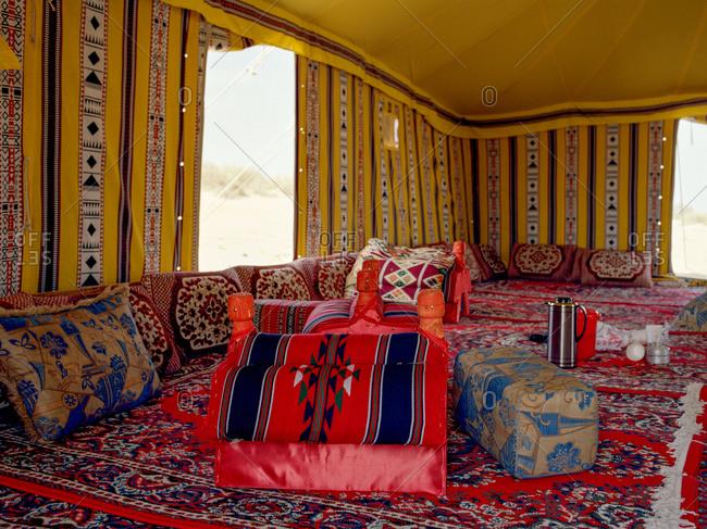 A Bedouin tent