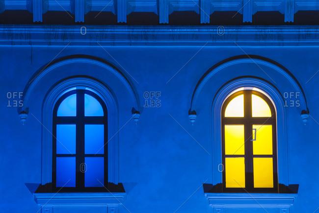 Illuminated windows