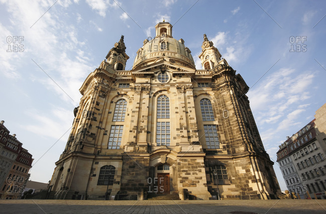 Church of our Lady in the morning light, Dresden