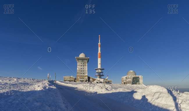 Weather station and transmitter, Harz National Park