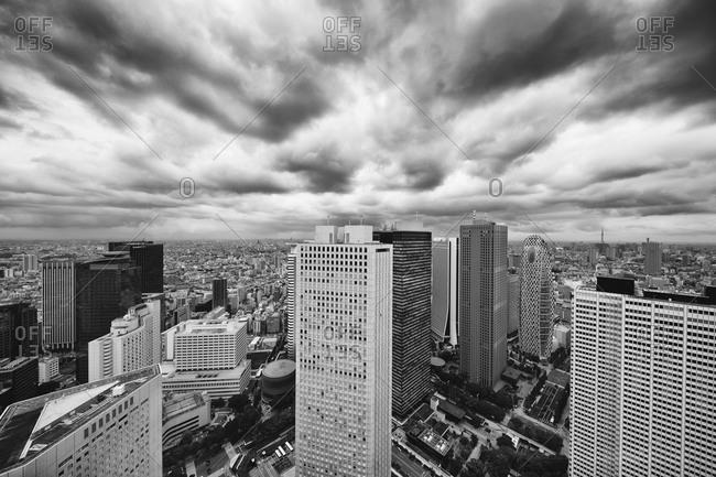 Skyscrapers seen from Tokyo Metropolitan Government Building