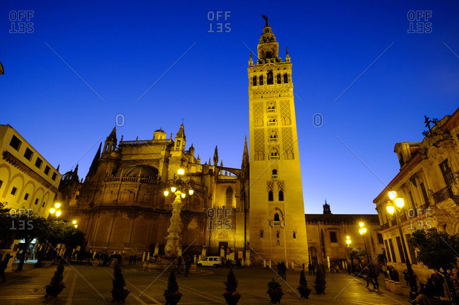 Seville Cathedral and Giralda, UNESCO World Heritage Site, Seville, Andalucia, Spain, Europe