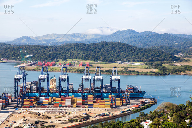 Shipping port in remote setting