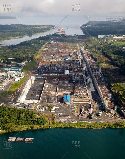 Port development in remote setting
