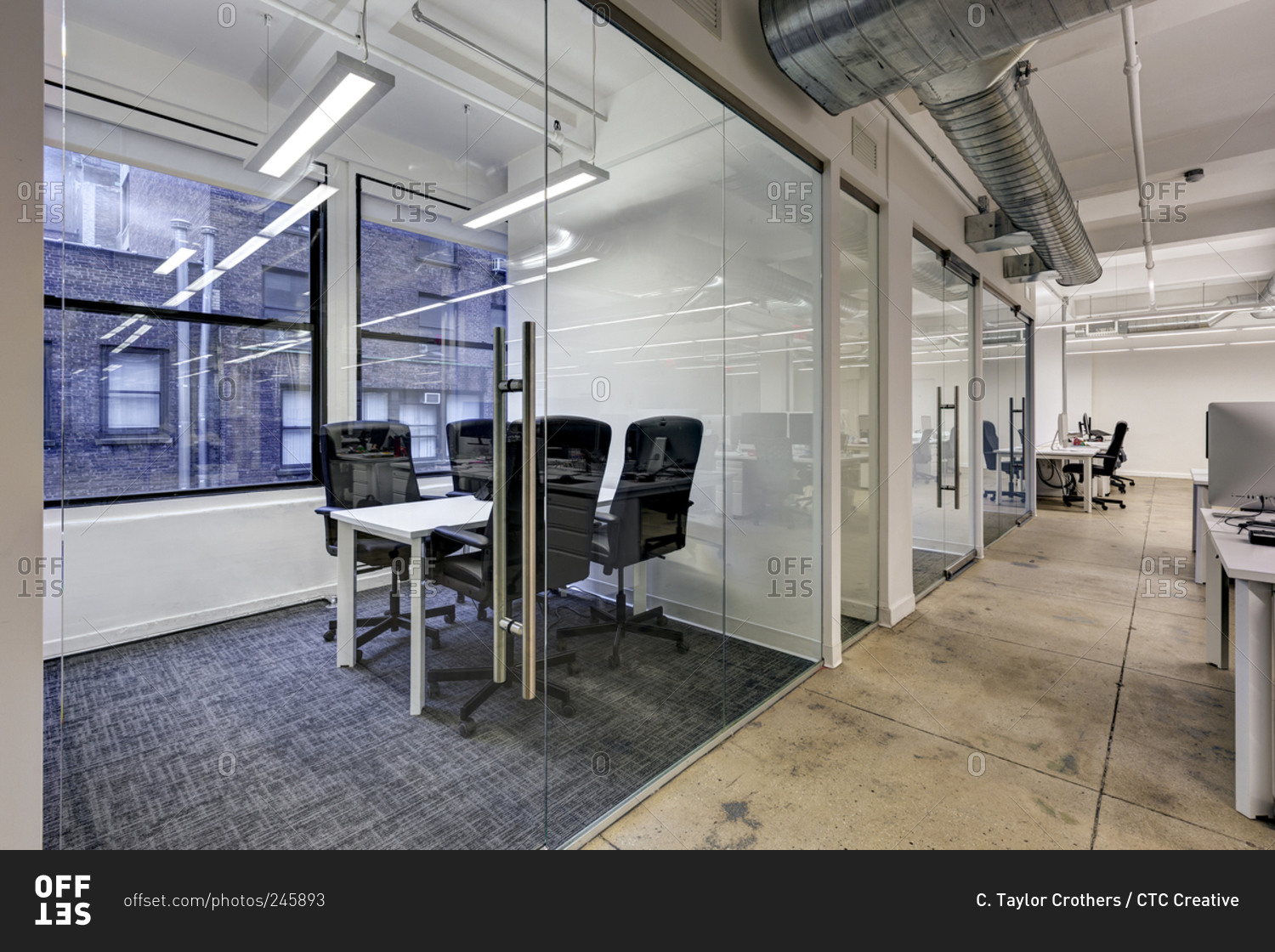 New york usa january 18 2015 modern open office space Shared office space design