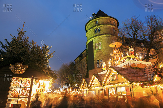 Old castle during Christmas, Baden Wurttemberg