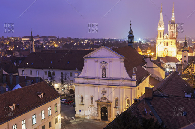 Zagreb Cathedral and St. Catherine Church, Zagreb