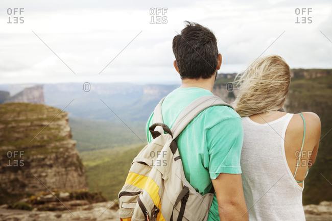Couple visiting Chapada Diamantina National Park in Bahia, Brazil