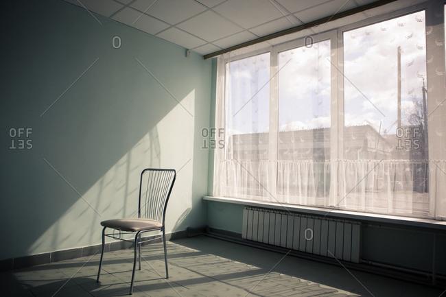 Room interior in Chernobyl