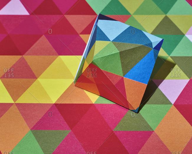 Three dimensional and flat triangular designs