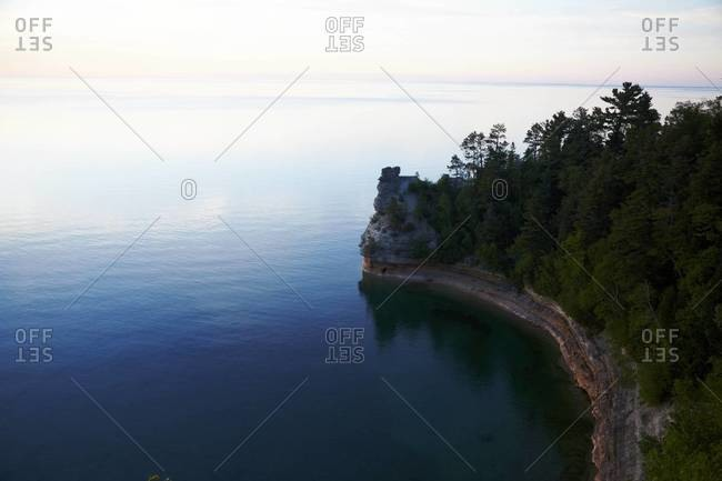 Pictured Rocks National Lakeshore in Michigan