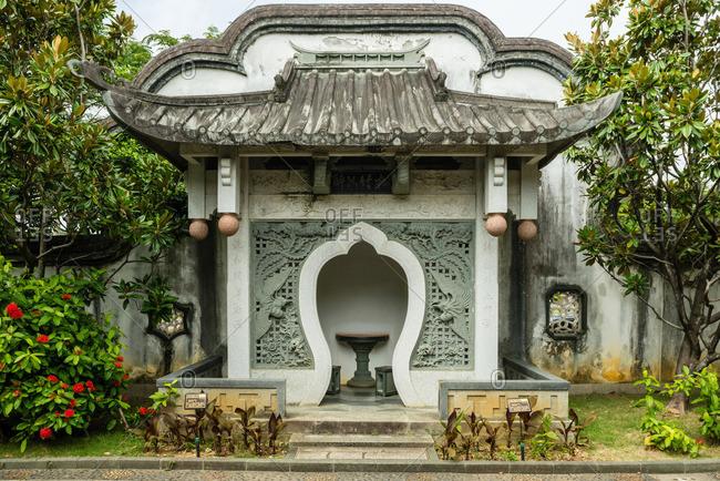 Gate in Fukushu-en Garden, Okinawa
