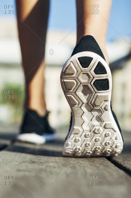 Sole of sports shoe