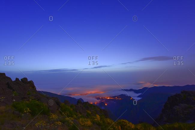 View to Atlantic coast, Madeira