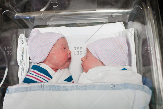 fraternal twins stock photos - OFFSET