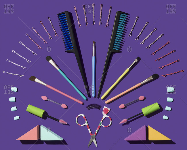 Hair and make up accessories