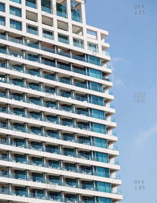 Hotel exterior in Tel Aviv, Israel