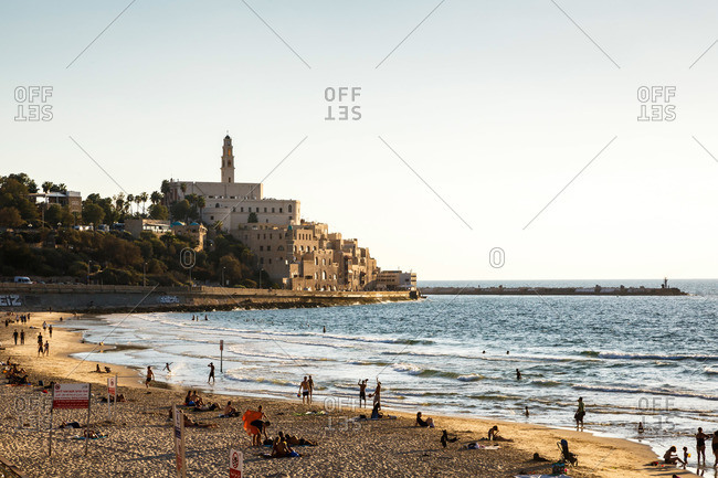 View on Old Jaffa, Tel Aviv, Israel