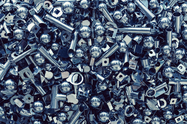 Close-up of nuts and bolts