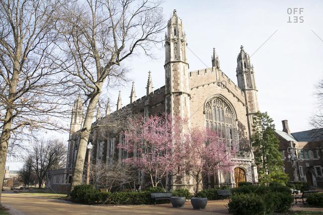 Graham Chapel at Washington University in St. Louis, Missouri