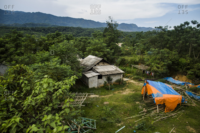 A small farm house and lands near the infamous Kilometer Zero border crossing from Vietnam into China