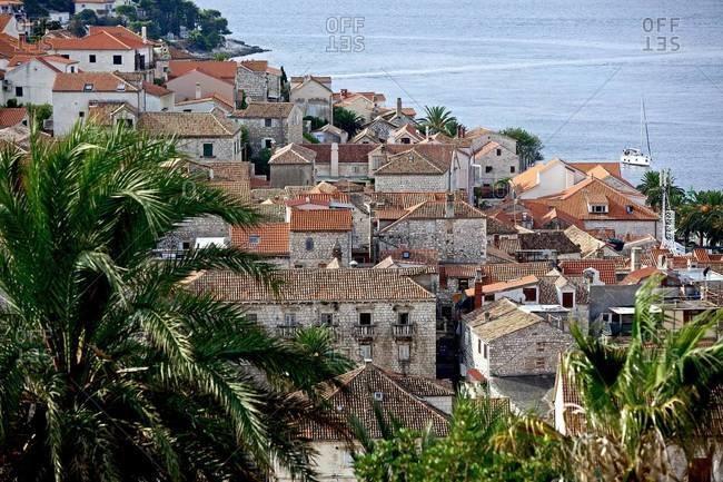 Seaside town on the Croatian coast