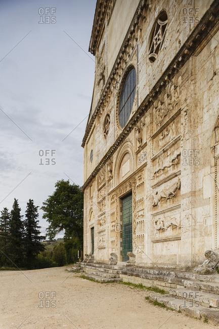 St. Peter's church near Spoleto, Italy