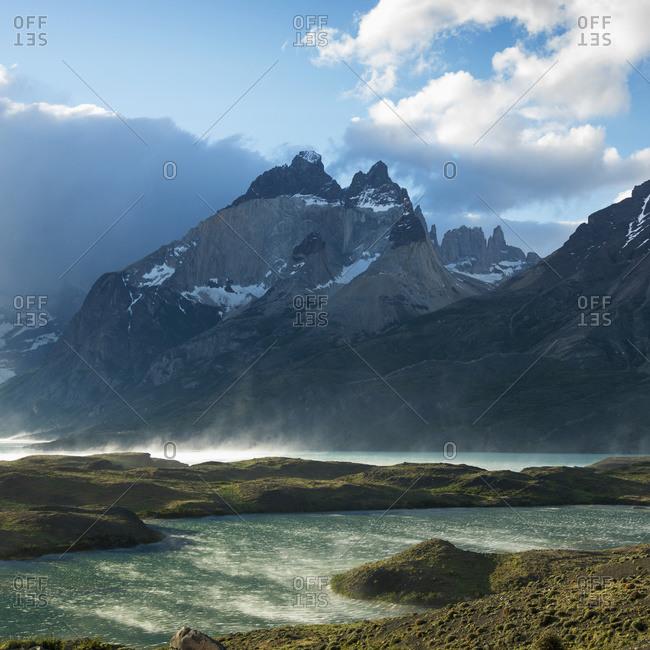 Nordenskjold Lake, Torres del Paine National Park, Magallanes and Antarctica Chilena Region, Chile